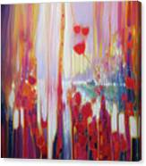 Distant Memory - A Semi Abstract Landscape Canvas Print