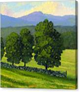 Distant Mountains Canvas Print