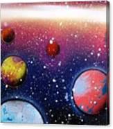 Distant Planets Canvas Print