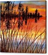 Distant Reflections Canvas Print