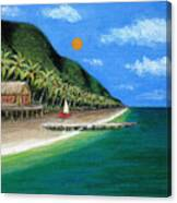 Distant Shores Canvas Print