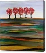 Distant Trees Canvas Print