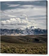 Distater Peak Road -february-0723-r1 Canvas Print