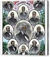 Distinguished Colored Men Canvas Print