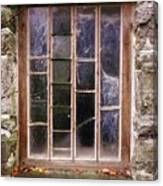 Disused Watermill Window Canvas Print