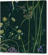 Ditchweed Fairy Cattails Canvas Print