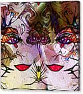 Diva Duo Canvas Print
