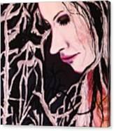 Diva Sarah Canvas Print
