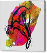 Dive - Warm Canvas Print
