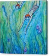 Divedown.marymconner Canvas Print