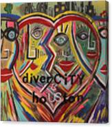 diverCITY is hoUSton Canvas Print