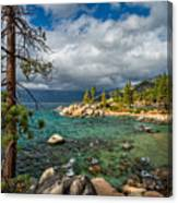 Divers Cove At Lake Tahoe Canvas Print