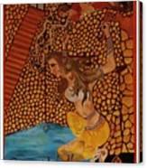 Divine Bath Canvas Print