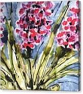 Divine Blooms-21057 Canvas Print