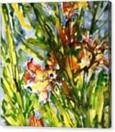 Divine Blooms-21061 Canvas Print