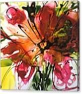 Divine Blooms-21082 Canvas Print