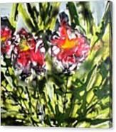 Divine Blooms-21166 Canvas Print