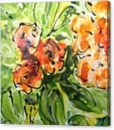 Divine Blooms-21192 Canvas Print