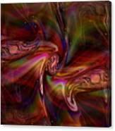 Divine Energy--healing Waves Canvas Print