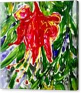 Divine Fllowers Canvas Print