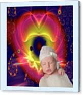 Divine Heart/bigstock - 92883674 Baby Canvas Print
