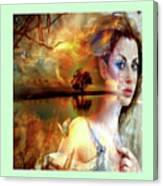 Divine Sunset Canvas Print