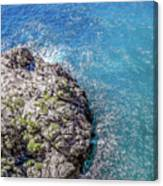 Diving In Italy Canvas Print