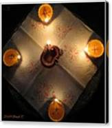 Diwali Lamps Canvas Print