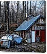 Dix Family Sugar House Canvas Print