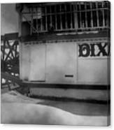 Dixie Boat Blizzard Canvas Print