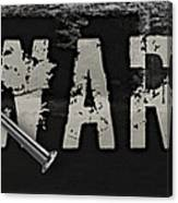 Diy Warrior Canvas Print