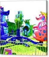 Dizzy Dragon Ride 1 Canvas Print