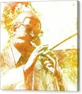 Dizzy Gillespie Cheraw South Carolina 2 Canvas Print