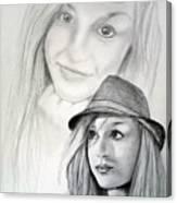 Dj-minnie Canvas Print