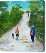 Djakout Canvas Print