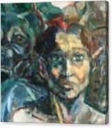 Djinn Trapped Canvas Print