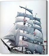 dk tall ships sagres i lyr 1896 D K Spinaker Canvas Print