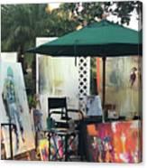 Dmrt Art Show Canvas Print