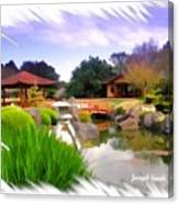 Do-00007 Japanese Gardens Canvas Print