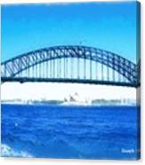 Do-00057 Harbour Bridge Canvas Print