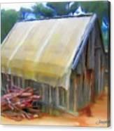 Do-00069 Small Hut Canvas Print