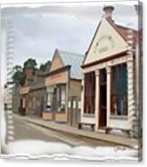 Do-00098 Town Centre - Sovereign Hill Canvas Print