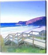 Do-00103 Frasier Beach Canvas Print