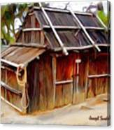 Do-00129 Old Cottage Canvas Print