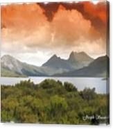 Do-00140 Cradle Mountains Canvas Print