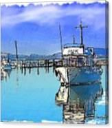 Do-00231 Hvk Boat Gosford Canvas Print