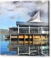 Do-00235 Iguana Joes Canvas Print