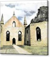 Do-00244 Abandoned Church Canvas Print