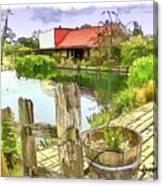 Do-00251 A Farm In Hunter Valley Canvas Print