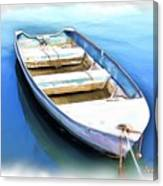 Do-00269 Boat In Killcare Canvas Print